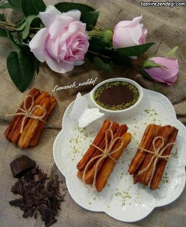 طرز تهیه چوروس, شیرینی چوروس اسپانیایی
