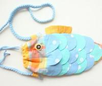 آموزش دوخت کیف به شکل ماهی