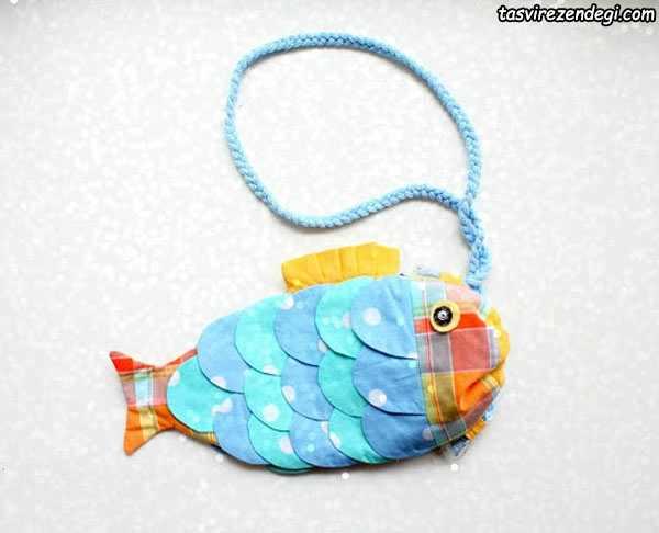 آموزش دوخت کیف ماهی,آموزش خیاطی