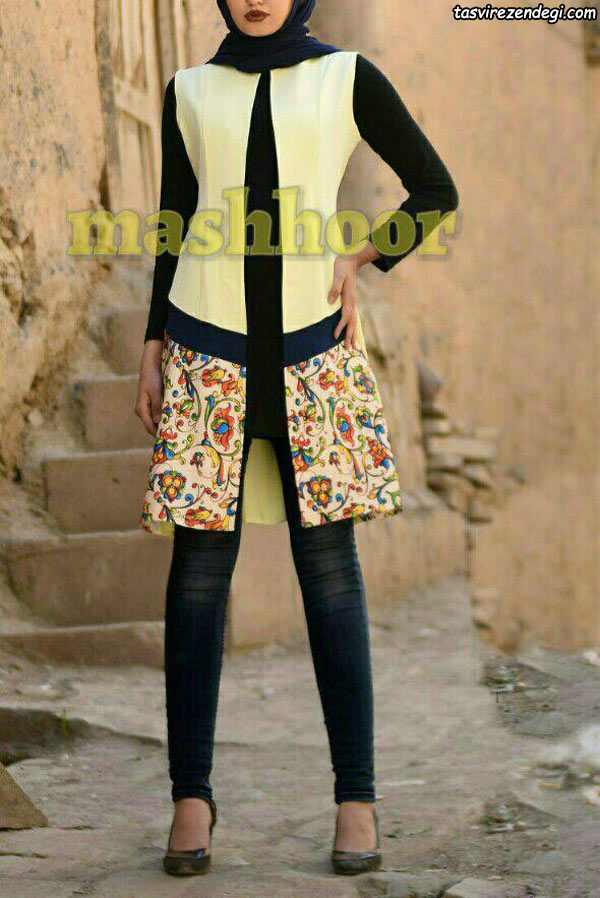 مدل مانتو مجلسی دخترانه پاییزه
