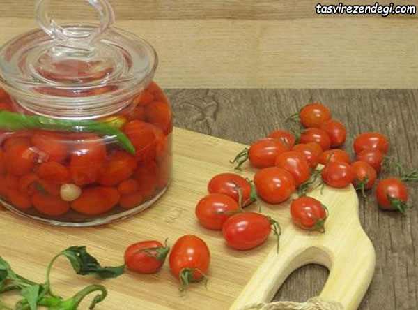 ترشی-گوجه-گیلاسی