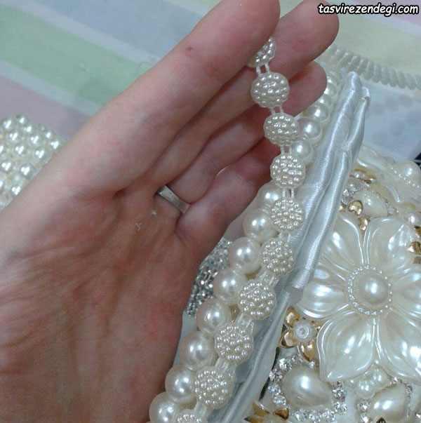 آموزش ساخت دسته گل عروس