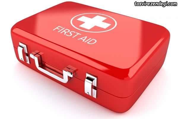 محتویات جعبه کمک های اولیه