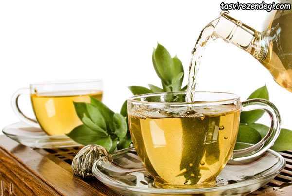 داشتن پوست سالم و شاداب , چای سبز
