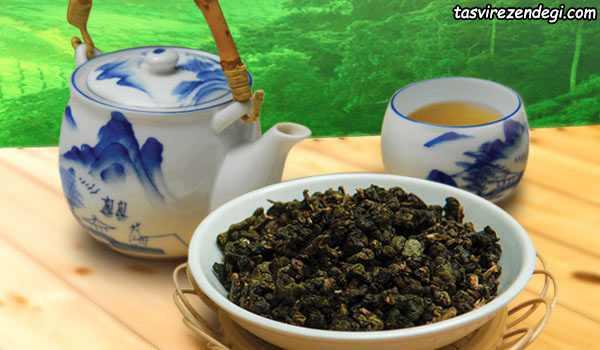 فواید چای گیاهی , چای اولانگ