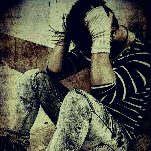 عکس پروفایل پسرانه غمگین