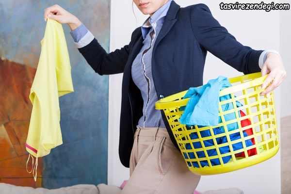 ازبین بردن بوی بد لباسها