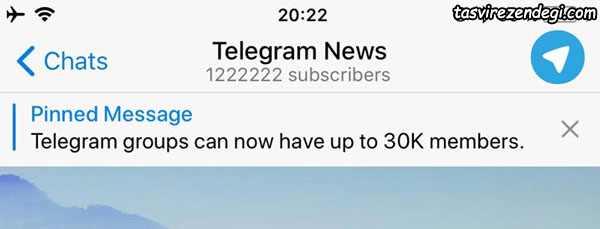 ایجاد آلبوم عکس در تلگرام