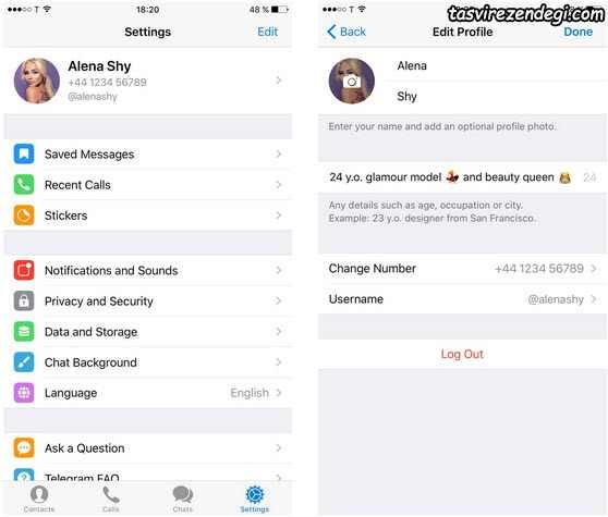 قرار دادن آلبوم عکس در تلگرام