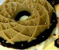 طرز تهیه ژله شکلاتی سه رنگ