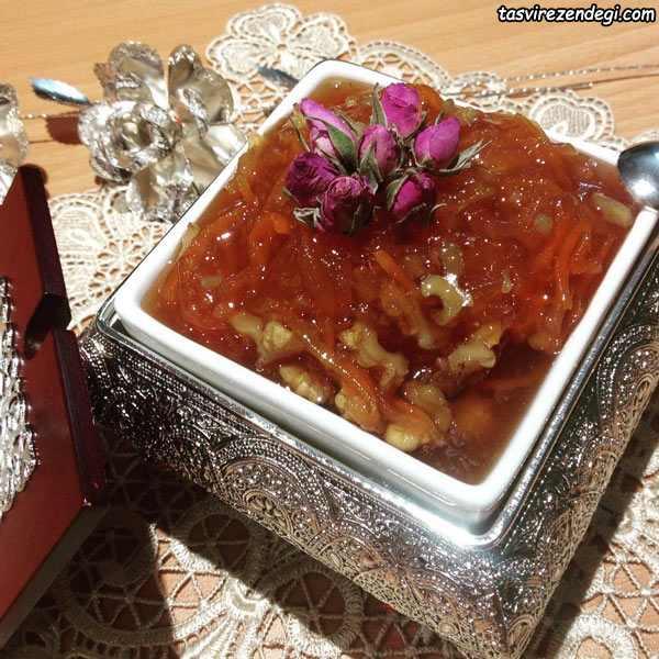مربا به هویج سیب