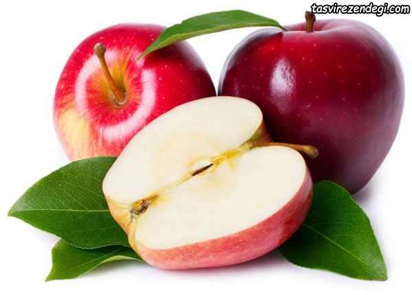 کاهش چربی شکم , خواص سیب