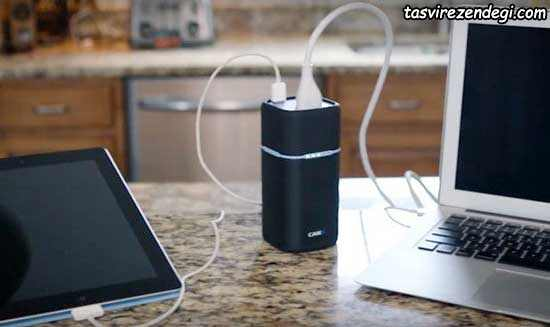 پاور بانک RavPower PowerStation Series 20100 mAh Portable Power Outlet