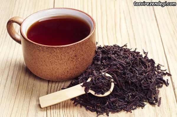 فواید چای گیاهی , چای سیاه