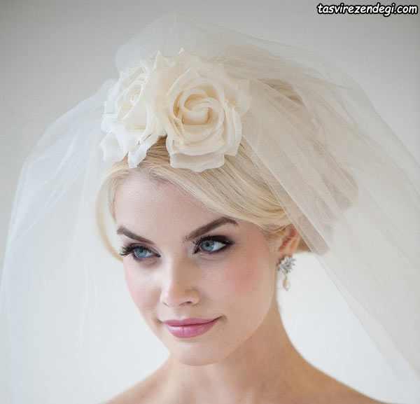 کلیپس موی عروس, مدل گل سر عروس