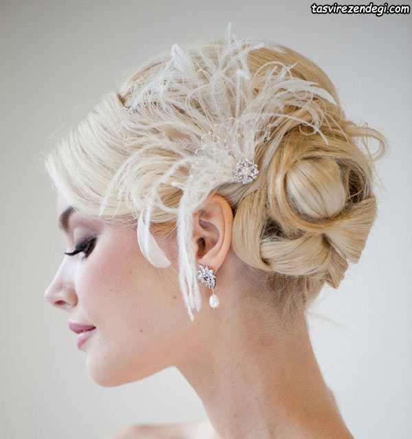 مدل گل موی عروس