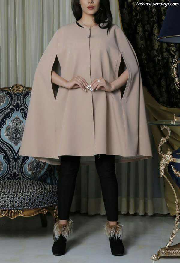 مدل های جدید و زیبای مانتو شنلی