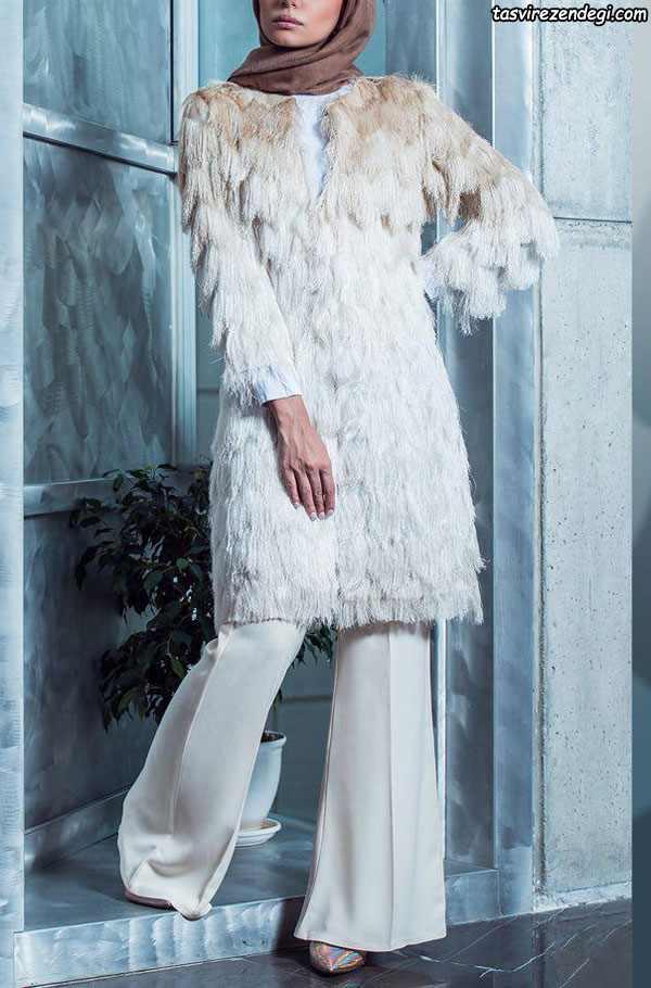 مدل جدبد مانتو زمستانه خزدار
