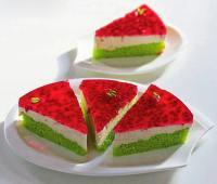چیز کیک هندوانه , دسر شب یلدا