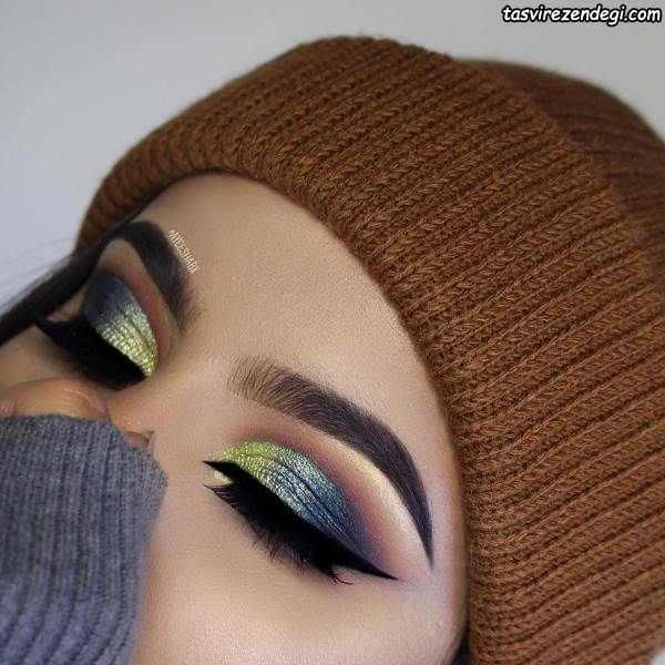 مدل آرایش چشم حرفه ای , میکاپ چشم عروس