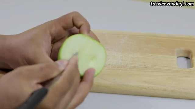 میوه آرایی شب یلدا , تزیین سیب
