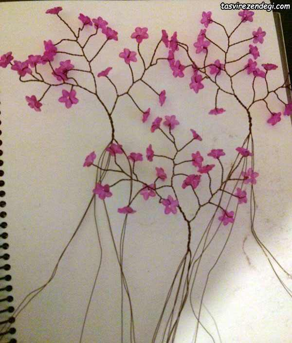 آموزش ساخت درختچه تزیینی