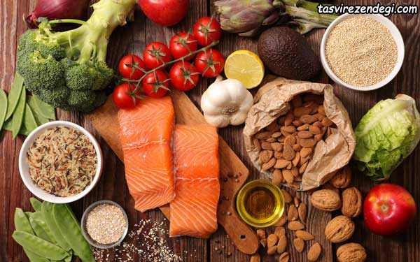 خوراکی های مفید برای باز شدن رگهای قلب