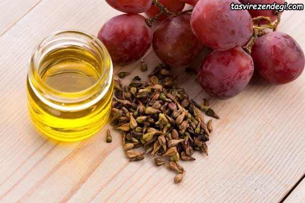 روغن هسته انگور , تقویت مژه و ابرو