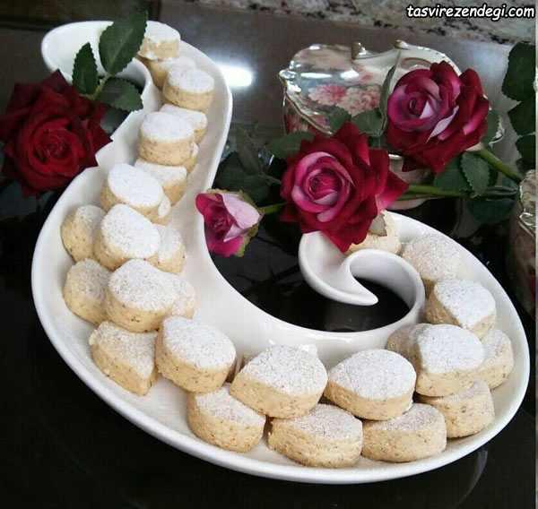 طرز تهیه شیرینی بادامی مناسب عید نوروز
