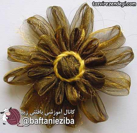 ساخت موتیف گل با دستگاه موتیف ساز