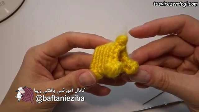 آموزش بافت عروسک سگ کوچک