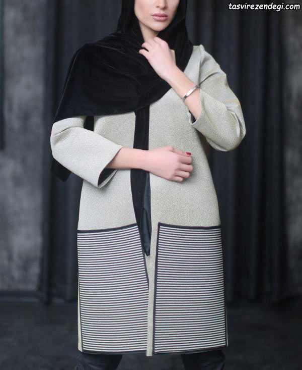 مدل مانتو پشم زمستانی
