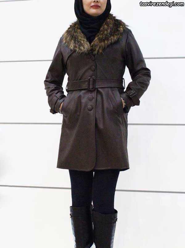 مدل مانتو زمستانه جدید , پالتو مخمل