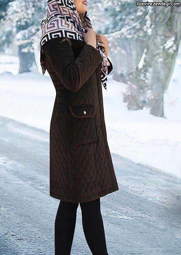 مدل مانتو زمستانه جدید , مانتو مخمل