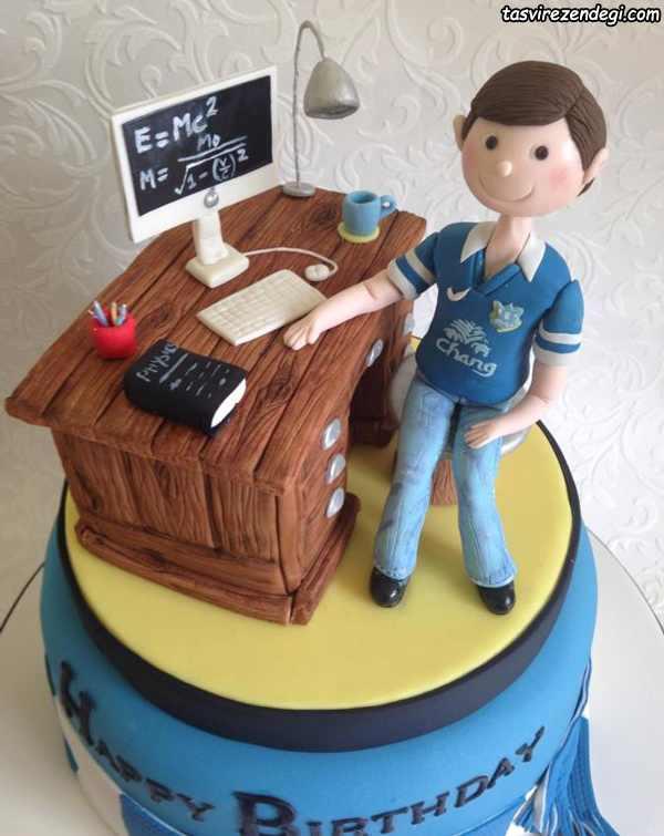 تزیین کیک روز دانشجو