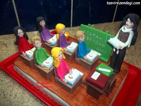مدل تزیین کیک روز دانشجو
