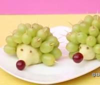 فیلم آموزش تزیین میوه , تزیین گلابی و انگور