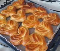 طرز تهیه نان قلبی