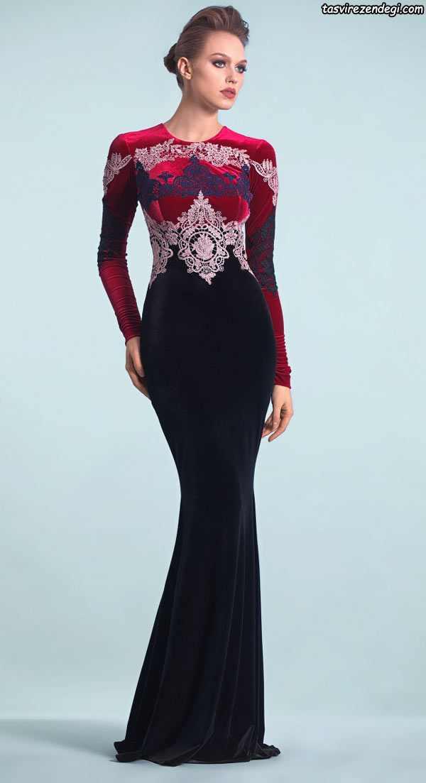 مدلهای جدید و متنوع لباس مجلسی مخمل shebreh com