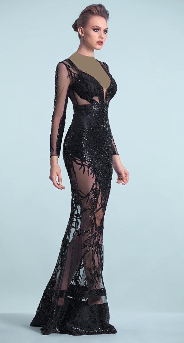 مدل جدید لباس شب