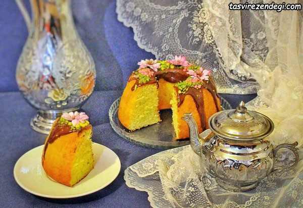 طرز تهیه کیک عصرانه خوشمزه و ترد