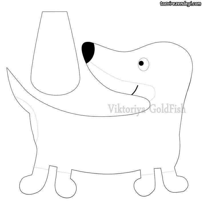 آموزش دوخت سگ پارچه ای