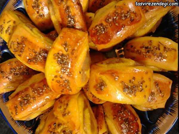 طرز تهیه شیرینی گل محمدی