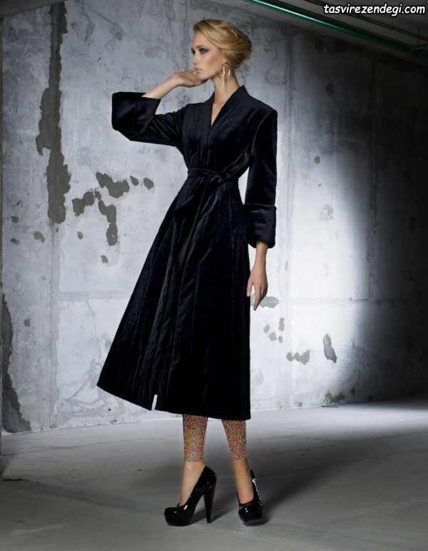 مدل مانتو زمستانی خارجی برند Ulyana Sergeenko روسیه