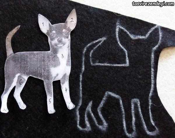 ساخت مگنت رویخچالی سگ