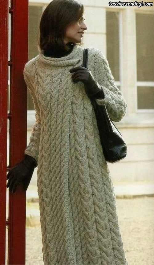 مدل مانتو دستباف , مانتو بافتنی