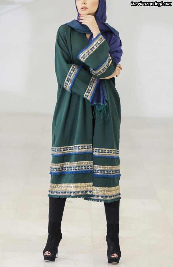 مدل مانتو عید سنتی