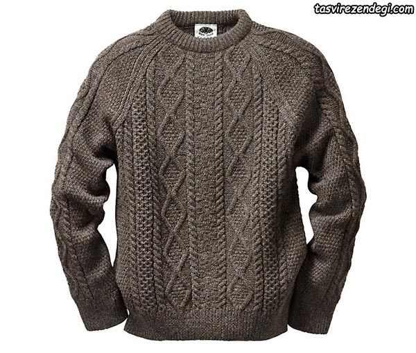 لباس دستباف مردانه یقه گرد