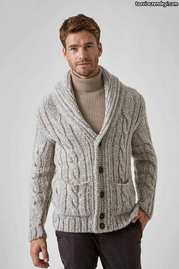 لباس دستباف مردانه یقه آرشال دکمه دار
