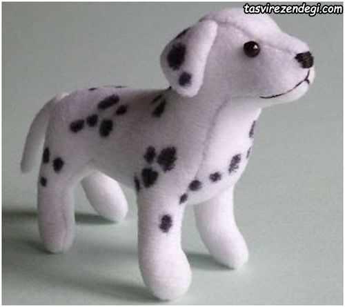 آموزش دوخت عروسک سگ خالدار آموزش تصویری دوخت عروسک سگ خالدار با تصاویر مرحله به مرحله آموزش دوخت سگ خالدار٬ آموزش دوخت عروسک سگ خالدار با تصاویر مرحله به مرحله٬ آموزش عروسک سازی٬ ساخت عروسک سگ پارچه ای